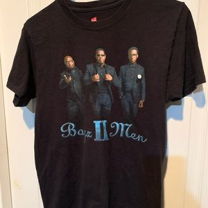 Boys II Mem the package tour t shirt 2013 size S